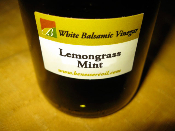 Lemongrass Mint White Balsamic - 375ml